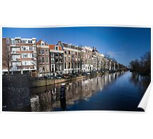 Amsterdam Curved Poster