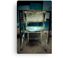 Have a Seat 5. Canvas Print