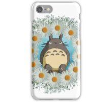 Totoro n Daisies iPhone Case/Skin