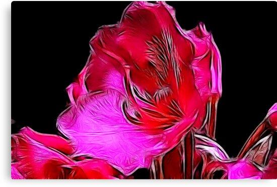 Fractual Bloom by Trevor Kersley