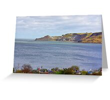 Runswick Bay Greeting Card