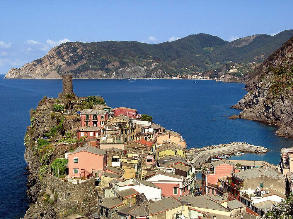 Picturesque Vernazza by Lanis Rossi