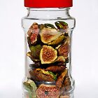Dried Figs In Jar   by jojobob