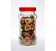 Dried Figs In Jar   Photographic Print