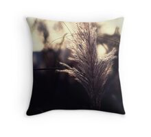 Whispers in the Grass Throw Pillow