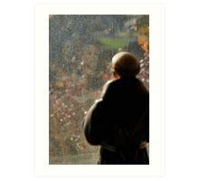 St Francis reflected  Art Print