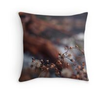 While barred clouds bloom the soft-dying day Throw Pillow