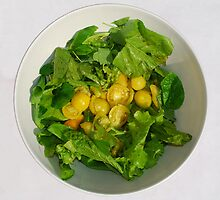 Yellow Tomato Salad Bowl  by jojobob