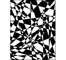 Shattered (BW) Photographic Print