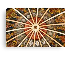 Baptistery of Parma - Ceiling detail Canvas Print