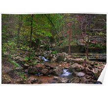 Blanchard Springs Little Stream Poster
