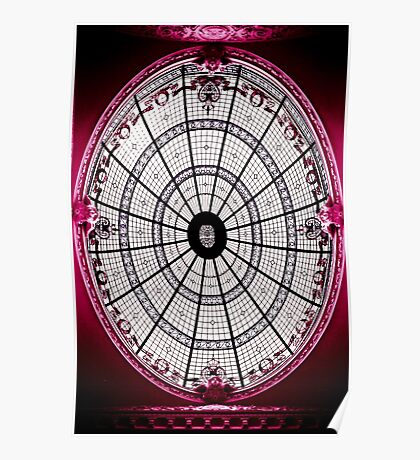 Domed Poster