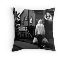 Solitary ! Throw Pillow