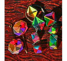Origami Miniatures Photographic Print
