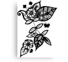 Too Flower Canvas Print