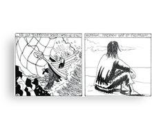 "VIKINGS ""castaway"" Metal Print"