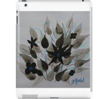 Blue negative iPad Case/Skin