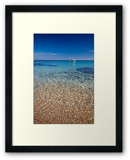 Mykonos beach by Neil Buchan-Grant