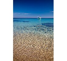 Mykonos beach Photographic Print