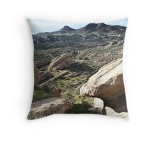 Vasquez Rocks 2 Throw Pillow