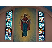 Beloved Mary...Mother of God  Photographic Print