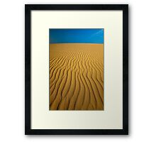 Deamy Dune Framed Print