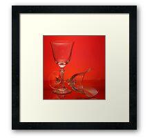 Red Wine please. Framed Print