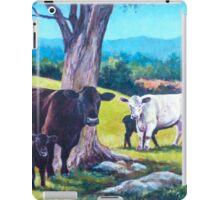 Cows and Calves iPad Case/Skin