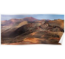 Timanfaya National Park Poster