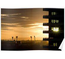 MCG Sunrise  Poster
