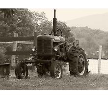 Farmall Tractor Photographic Print