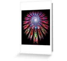 GUATEMALAN DREAMCATCHER Greeting Card