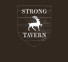 Strong Tavern (White) Womens Fitted T-Shirt