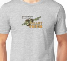 Valley Forge Space Freighter - front Unisex T-Shirt