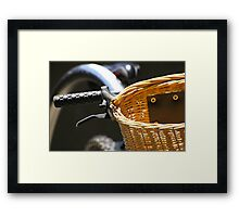 Wicca? Er, Would Wicker Be Acceptable Instead? Framed Print
