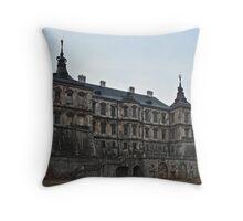 Twilight Castle Throw Pillow