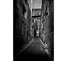 Down and Alone Photographic Print