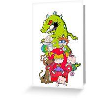 rug rats Greeting Card