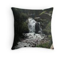Helen Hunt Falls- Colorado Springs Throw Pillow