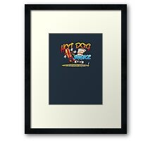 Hot Dog and a Shake - front Framed Print
