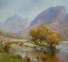 Borrowdale 2, Cumbria, England by JoeHush