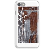 Angst II - Painting - Oil And Emulsion Paint On Board iPhone Case/Skin
