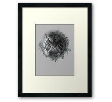 shield Framed Print