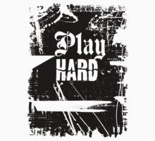 Play Hard ll t shirt by Andi Bird