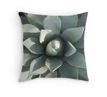 Aloe Vera- a.k.a alien plant Throw Pillow