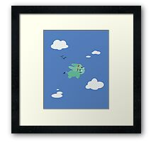 Elephant Aviation Framed Print
