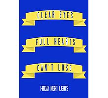 Clear Eyes Photographic Print