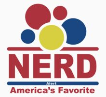 nerd alert white  by Andi Bird