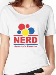 nerd alert white  Women's Relaxed Fit T-Shirt