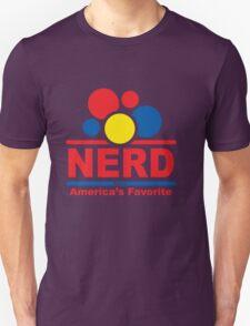 nerd alert white  Unisex T-Shirt